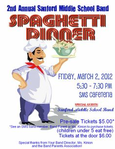 Spaghetti dinner fundraiser clipart for facebook clipart transparent library 17 Best images about Fundraising Flyers   Trips, Back to school ... clipart transparent library