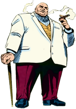 Spanish durg lord clipart svg library library Kingpin (character) - Wikipedia svg library library