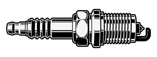 Spark plub clipart vector transparent download Spark Plug Free Vector Art - (9,306 Free Downloads) vector transparent download