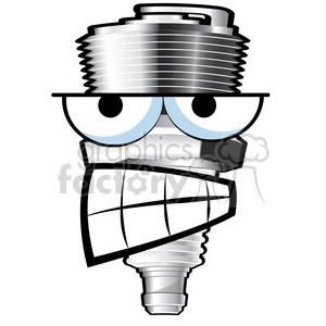 Spark plub clipart clip art royalty free mean spark plug cartoon character clipart. Royalty-free clipart # 387154 clip art royalty free