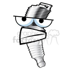 Spark plub clipart clip freeuse grumpy spark plug cartoon character 002 clipart. Royalty-free clipart #  387182 clip freeuse