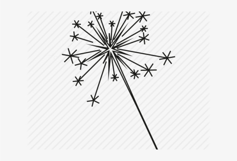 Sparkler clipart images picture black and white library Drawn Fireworks White Transparent - Black And White Sparkler ... picture black and white library