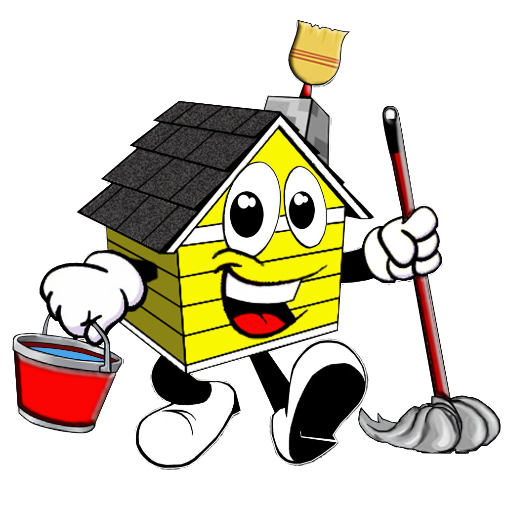 Sparkling clean house clipart clipart black and white Specialized Cleaning Packages | HoneyB Cleaning clipart black and white