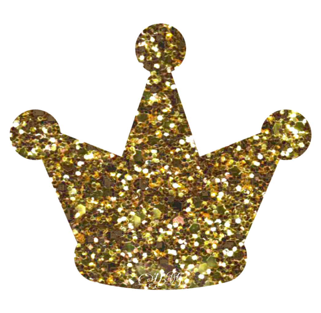 Sparkling gold crown clipart vector free download gold glitter sparkle crown - Sticker by Art vector free download