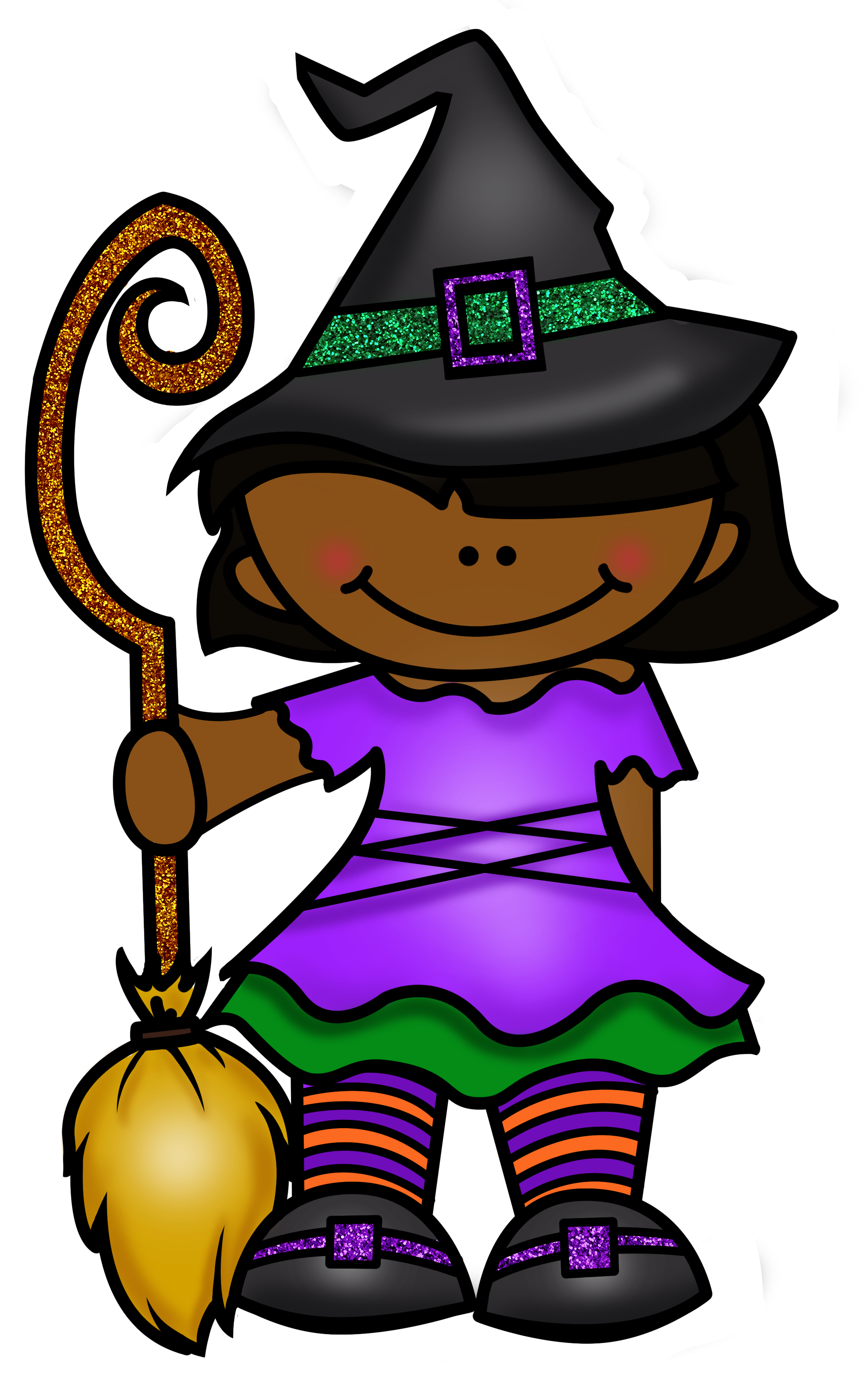 Sparkly pumpkin girly clipart jpg library library October Clipart - Black & White, Color, Glitter | October clipart ... jpg library library
