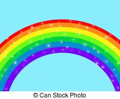 Sparkly rainbow clipart graphic freeuse library Sparkling rainbow Clipart and Stock Illustrations. 6,342 ... graphic freeuse library