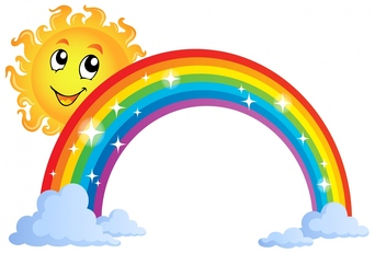 Sparkly rainbow clipart royalty free download Rainbow clip art rainbow images - ClipartPost royalty free download
