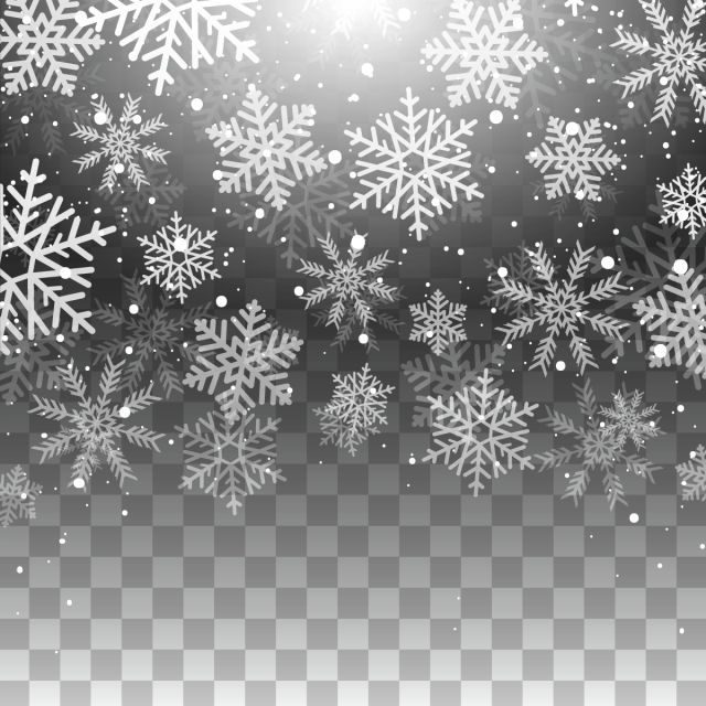 Sparkly snowflakes falling png clipart vector free vector transparent stock Beautiful Transparent Snow Effects With Stars And Snow ... vector transparent stock