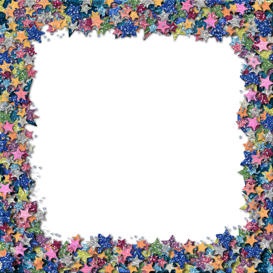 Star frame clipart free royalty free download Glitter Border Clipart royalty free download