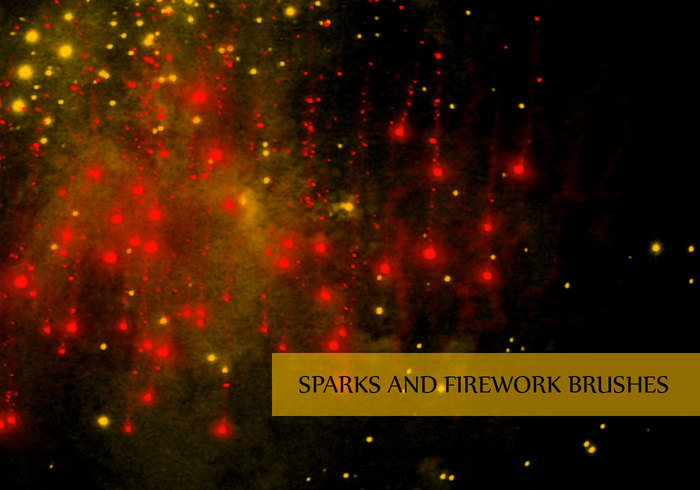 Sparks clipart photoshop graphic free stock Spark, Fire, and Fireworks Brushes | Free Photoshop Brushes ... graphic free stock