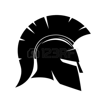 Spartan helmet clipart free banner black and white stock Spartan Helmet Clipart | Free download best Spartan Helmet ... banner black and white stock