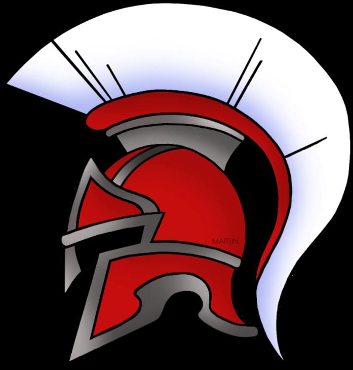 Spartan helmet clipart transparent jpg Roman Clip Art - Ancient Greek Spartan Helmet - Png Download ... jpg