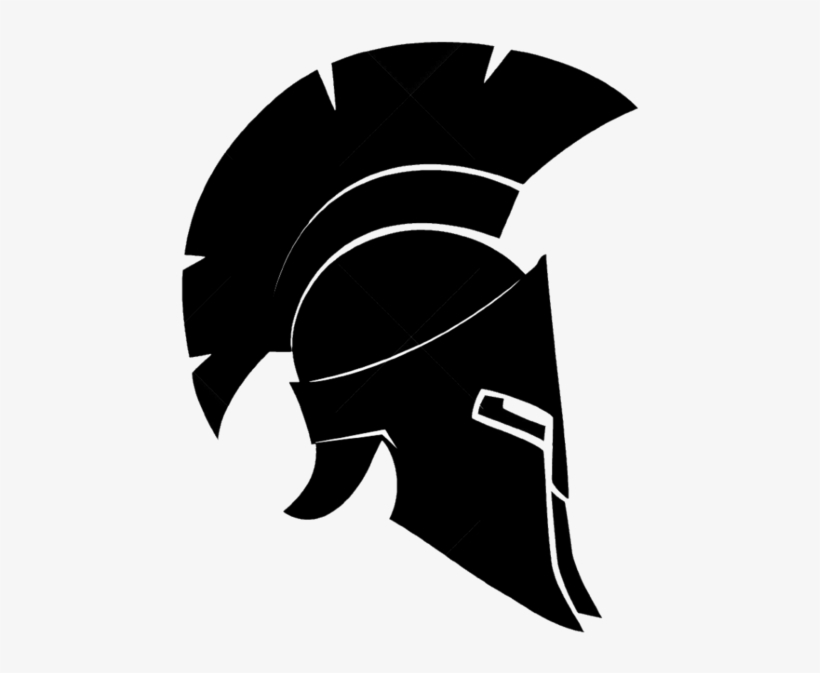 Spartan helmet clipart transparent picture stock Ares Vector Spartan Helmet Side Banner Library - Spartan ... picture stock