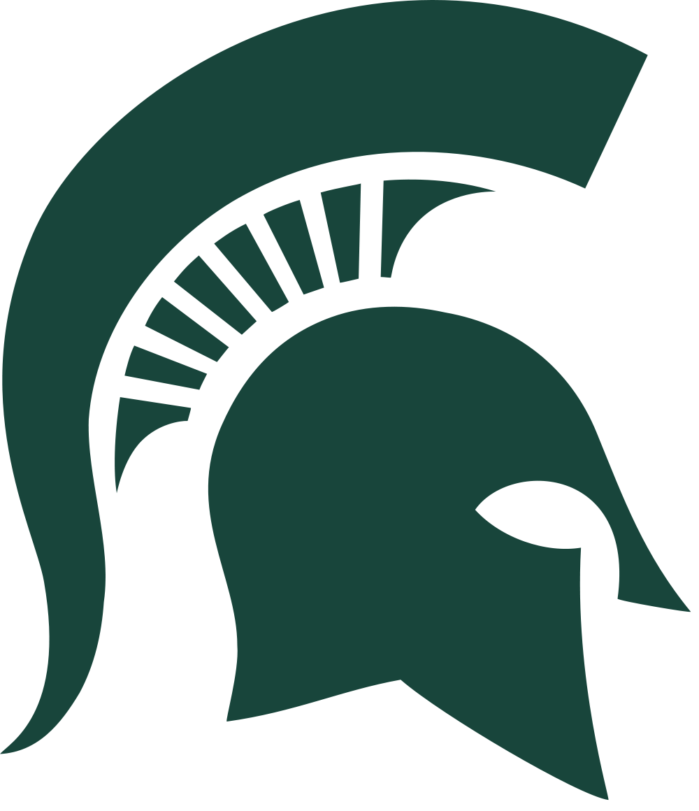 Spartans basketball clipart clipart black and white stock Michigan State Spartans | Basketball Wiki | FANDOM powered ... clipart black and white stock
