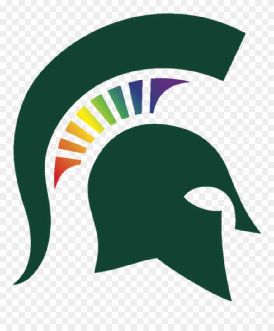 Spartans clipart vector free Michigan State Spartans Logo Transparent Clipart (#4164511 ... vector free