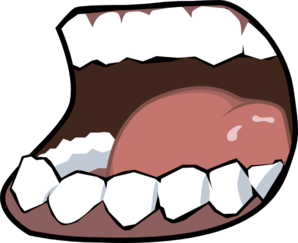 Speaking mouth clipart svg royalty free library Talking Mouth Clipart | Clipart Panda - Free Clipart Images svg royalty free library