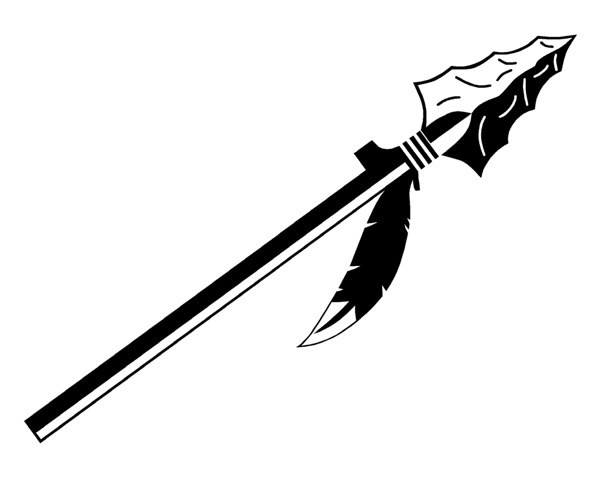 Spear pictures clipart jpg black and white download Spear clipart 3 » Clipart Portal jpg black and white download