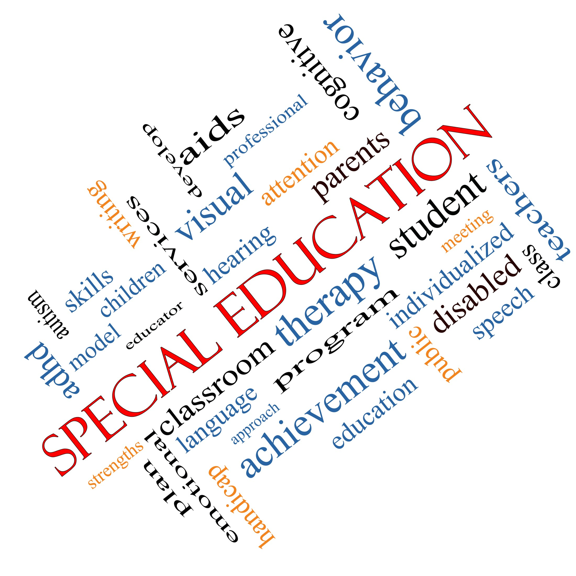 Special education wordle clipart image royalty free library Special Education Dept | Morse image royalty free library
