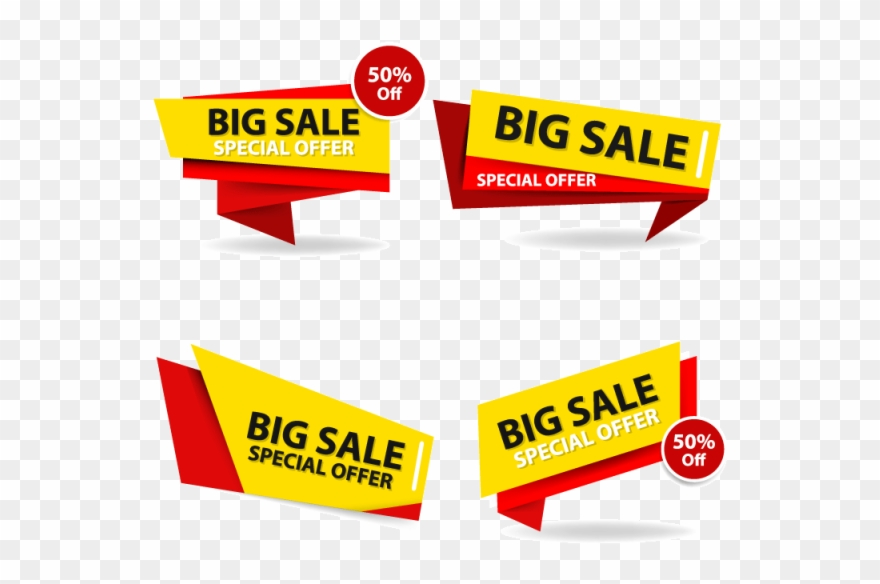 Special offer banner clipart