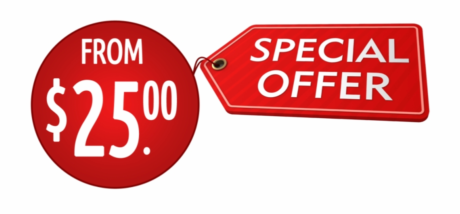 Special offer banner clipart picture black and white library Special Offer Banner - Sign Free PNG Images & Clipart ... picture black and white library
