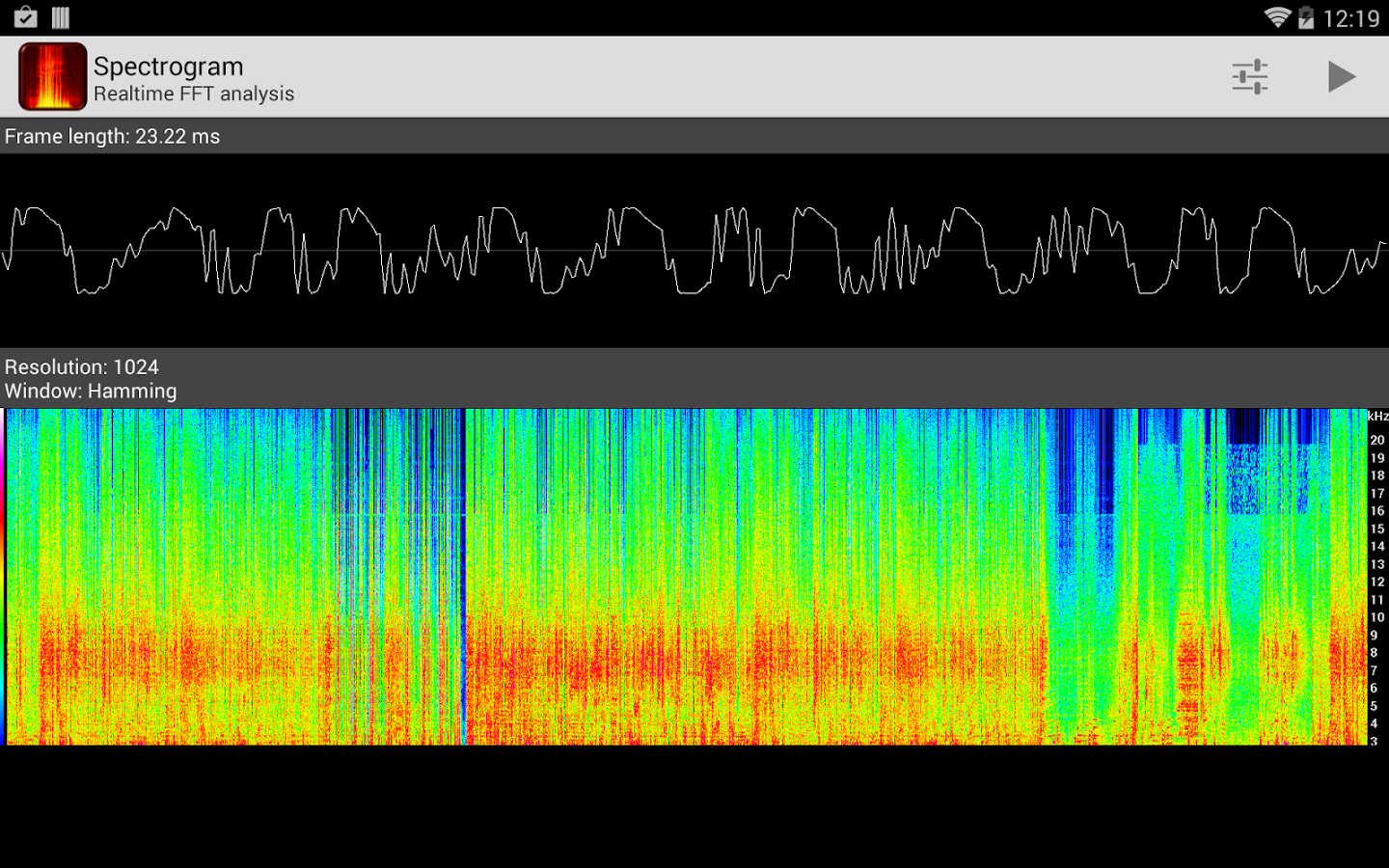 Spectrograph app clipart library library Spectrogram - Android Apps on Google Play clipart library library