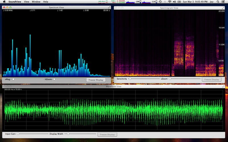 Spectrograph app jpg library library SoundView - An Audio Spectrum Analyzer with a Spectrograph on the ... jpg library library