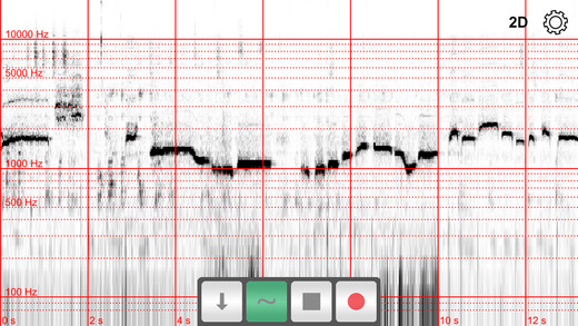 Spectrograph app freeuse Spectrograph on the App Store freeuse