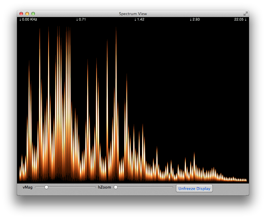 Spectrograph app clip library stock Sound View, A Spectrum Analyzer & Spectrograph App for macOS ... clip library stock