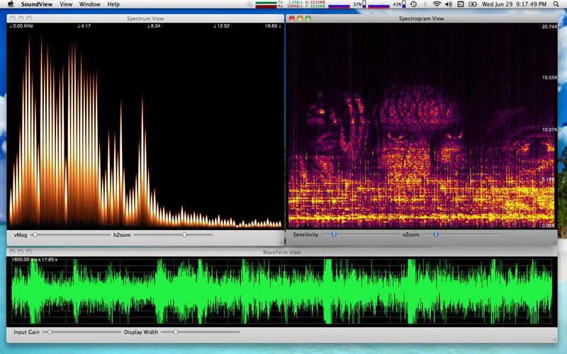 Spectrograph app clipart transparent SoundView - An Audio Spectrum Analyzer with a Spectrograph on the ... clipart transparent