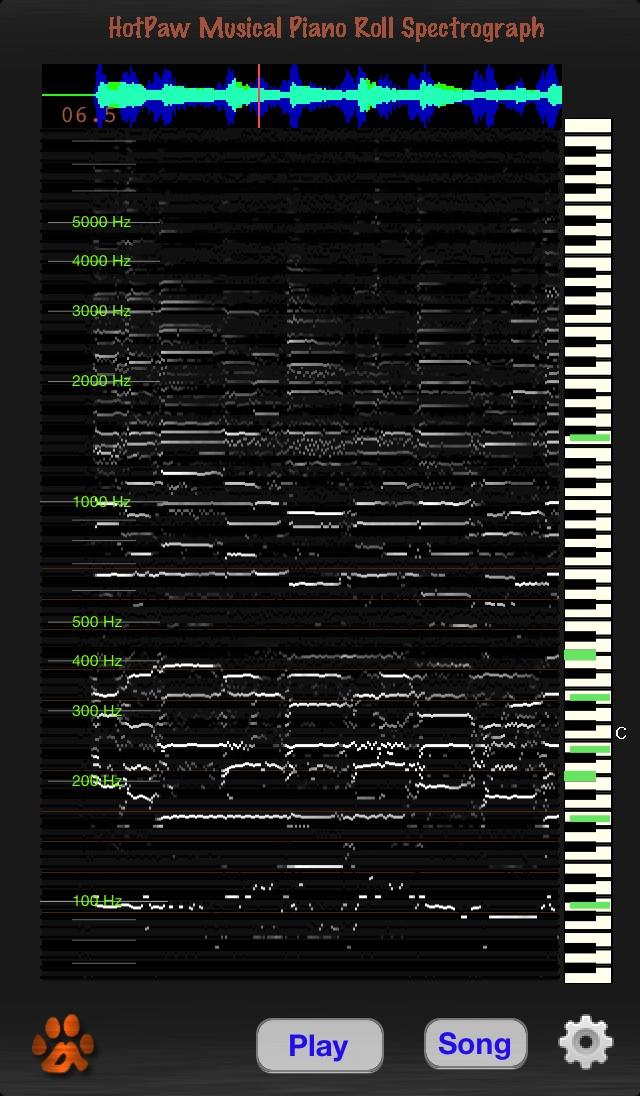 Spectrograph app png transparent download HotPaw Productions png transparent download