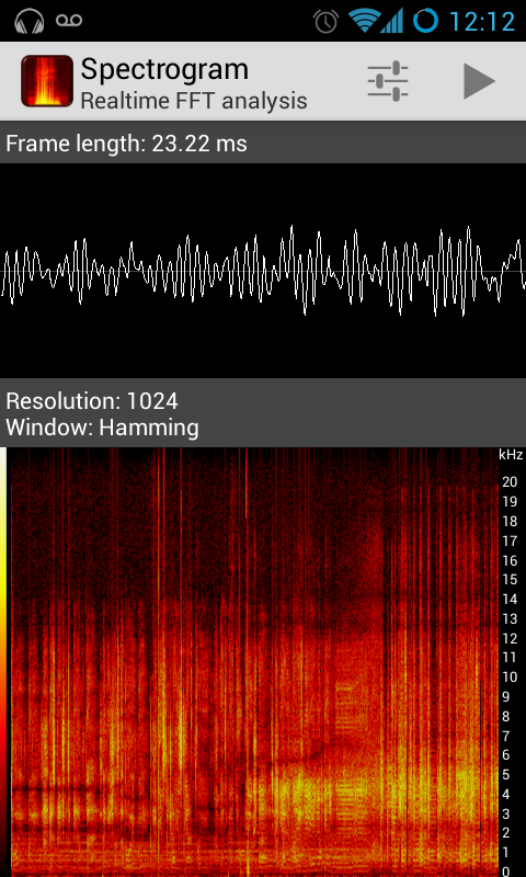 Spectrograph app vector transparent library Spectrogram - Android Apps on Google Play vector transparent library