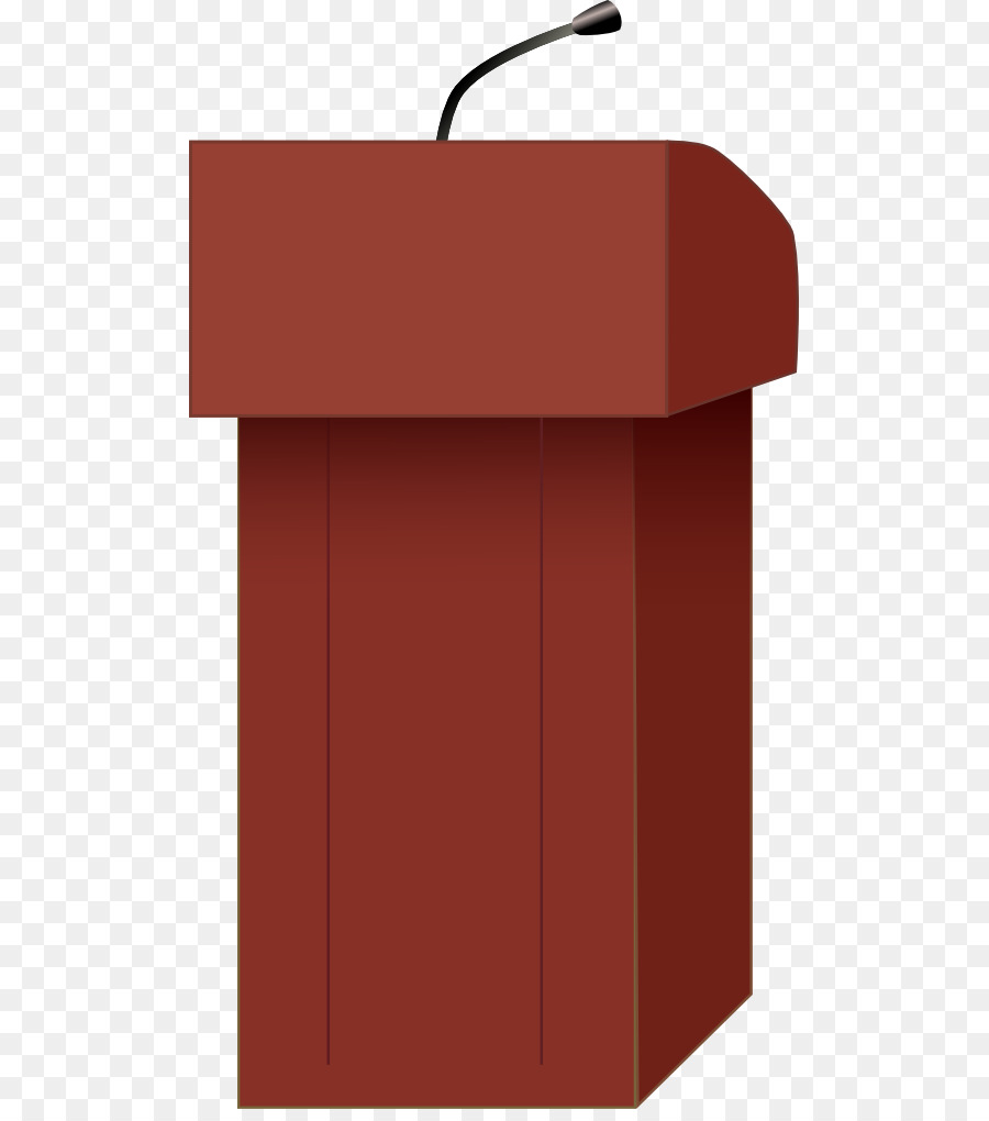 Speech podium clipart clip black and white Table Background png download - 555*1010 - Free Transparent ... clip black and white