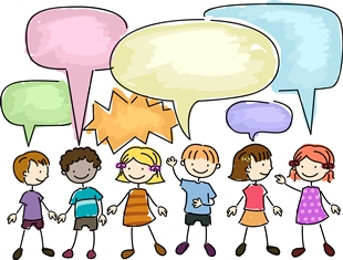 Speech therapy with kids clipart vector library NHS Western Isles - Speech and Language Therapy vector library