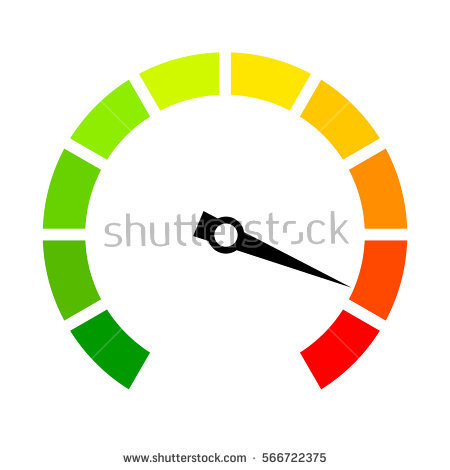 Speed arrow clipart svg freeuse Speed Metering Icon Vector Illustration Isolated Stock Vector ... svg freeuse