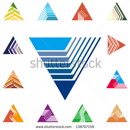 Speed arrow clipart clipart library download Design Triangle Arrow Logo Vector Template Stock Vector 138707159 ... clipart library download