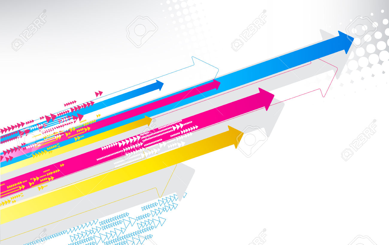 Speed arrow clipart banner Vector Illustration Of Color Print Arrows Royalty Free Cliparts ... banner