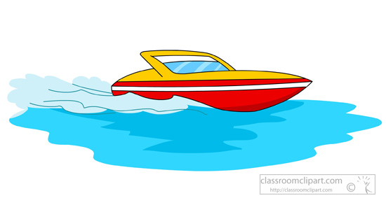 Speed boat clip art clipart free stock Free Boat Clipart Pictures - Clipartix clipart free stock