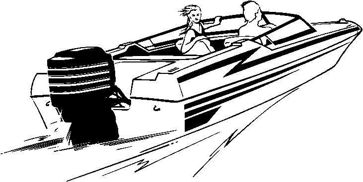 Speed boat clip art graphic transparent stock Speed boat clipart black and white - ClipartFest graphic transparent stock