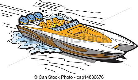 Speed boat clip art png freeuse Speedboat Illustrations and Clipart. 935 Speedboat royalty free ... png freeuse