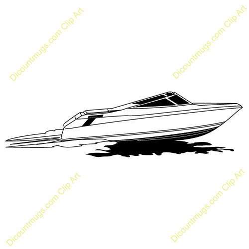 Speed boat clipart black and white graphic transparent stock Speed boat clipart black and white 2 » Clipart Station graphic transparent stock