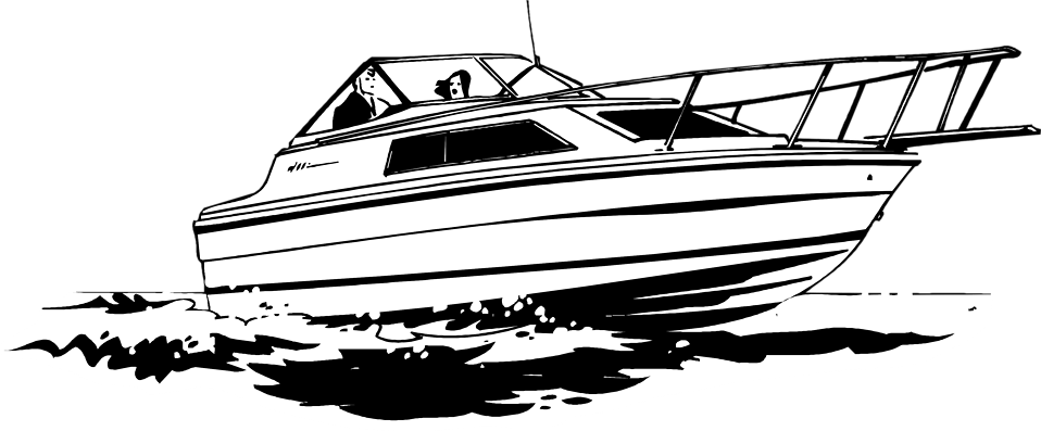 Speed boat clipart black and white clip black and white library Speed boat clipart black and white 2 » Clipart Portal clip black and white library