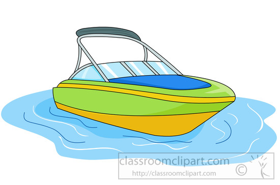 Speed boats clipart clip transparent download Boat in water clipart - ClipartFest clip transparent download