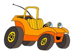 Speed buggy clipart