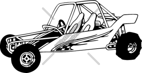 Speed buggy clipart graphic black and white stock Buggy car clipart - ClipartFest graphic black and white stock