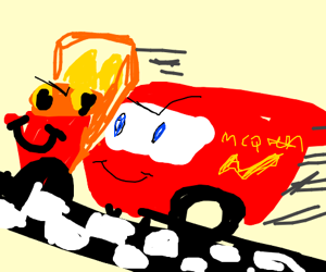 Speed buggy clipart png royalty free download Mc Queen races Speed Buggy png royalty free download