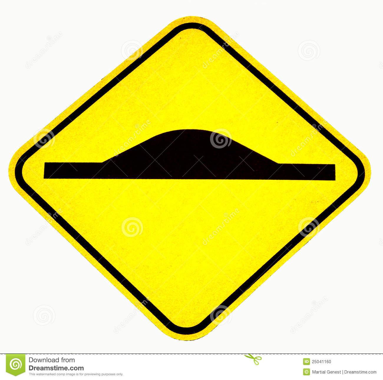 Speed bump clip art jpg royalty free stock Speed Bump Sign Stock Photo - Image: 25041160 jpg royalty free stock