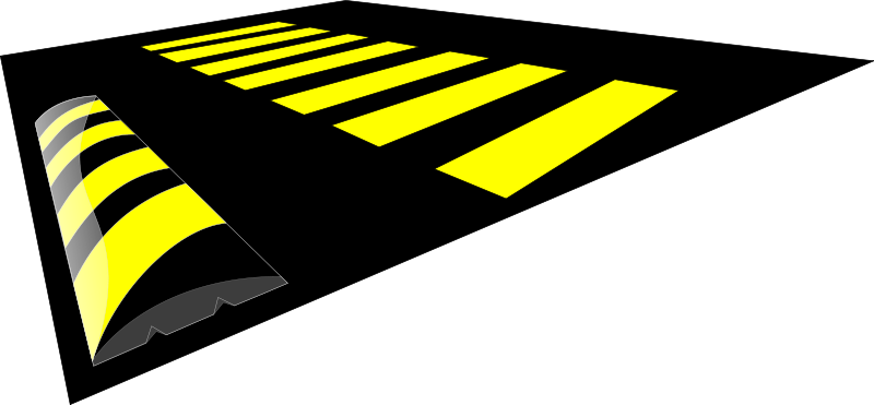 Speed bump clipart picture royalty free download Free Clipart: Speed Bump | cibo00 picture royalty free download