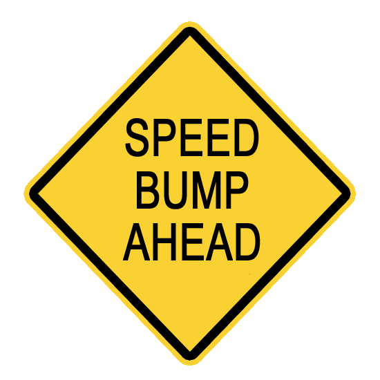 Speed bump clipart svg black and white Speed Bump Ahead Clip ARt | Clipart Panda - Free Clipart Images svg black and white