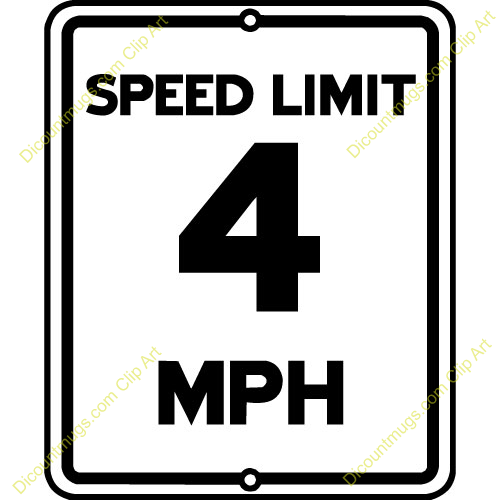 Speed clip art picture free download Speed limit sign clip art - ClipartFest picture free download