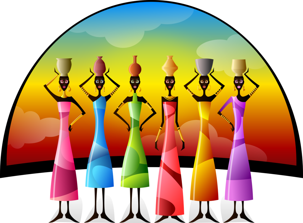 Speed clipart free clip royalty free stock African Women With Vessels by Viscious-Speed on DeviantArt clip royalty free stock